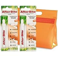 AfterBite - Doppelpack Stift Mücken-Moskito Zecken Bisse Stiche, Gegen Bienen Wespen Quallen BiteAway + KULTURBEUTEL preisvergleich bei billige-tabletten.eu