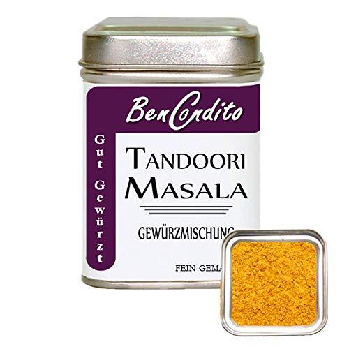 BenCondito -Tandoori Masala Gewürz – Indische Masala Gewürzmischung 80 gr