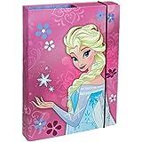 Undercover frwd0940-Cuaderno Box A4Disney Frozen, lomo de 4cm, color rosa