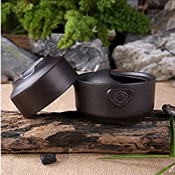 GENERIC BALCK : new Chinese Kung Fu tea set Purple Clay 1 pot 1 Cup travel tea sets teapot teacup Yixing Office Quick cup bowl pot