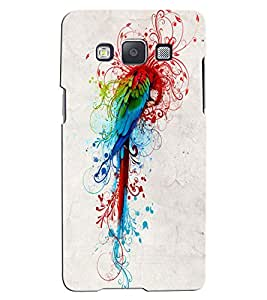 Citydreamz Parrot/Colorful Birds/Jungle Hard Polycarbonate Designer Back Case Cover For Samsung Galaxy J5