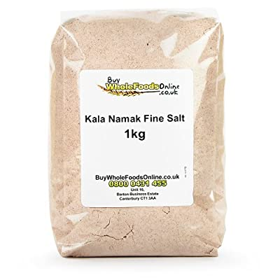 Kala Namak Fine Salt 1kg from Buy Whole Foods Online Ltd.