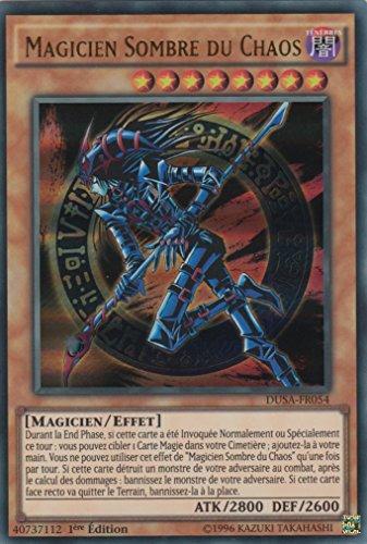 """Carte Yu-Gi-Oh! """"Magicien Sombre du Chaos"""" DUSA-FR054 - VF/ULTRA RARE"""