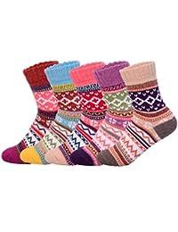 Lindo calcetines de la historieta,Oliked calcetines térmicos varios diseños / colores Adulto mujer Calcetines