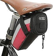 Honorall Bike Saddle Bag Cycling Seat Tail Bag Pouch MTB Bicycle Tool Storage Bag