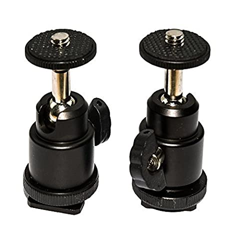 MP power ® 2x Mini Rotule métallique 360 ° Fixation