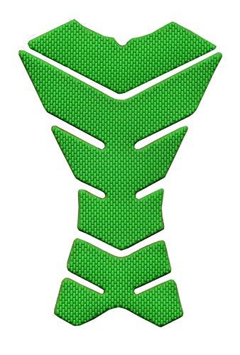 Preisvergleich Produktbild Grüne Motorrad Skeleton-Schutz Gummiauflage Sticker Aufkleber Racing 3D Fiber Gas Tank für Honda BROS (NT400J K K2 L L2) 1988-1990