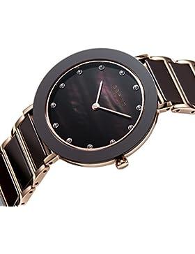 Bering Time Damen-Armbanduhr XS Analog Quarz verschiedene Materialien 11435-765
