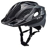 KED Spiri Two Helmet Black Anthracite Matt Kopfumfang L | 55-61cm 2018 Fahrradhelm