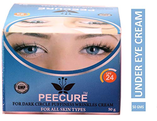 Peecure Under Eye Cream For Dark Circle Puffiness,Fine lines Wrinkles Cream & Bags for Men & Women