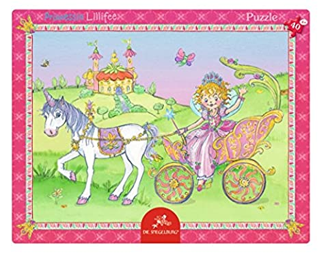 Prinzessin Lillifee 40Stück Off to the Fairy Ball Rahmen Puzzle, Modell # 11552