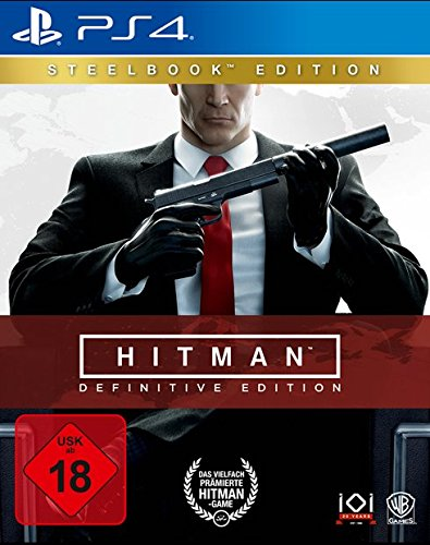 HITMAN: DEFINITIVE EDITION - STEELBOOK EDITION - [PlayStation 4]