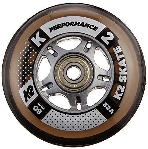 K2 Rollenset 80 mm Performance Wheel 8-Pack/ILQ 7, mehrfarbig, One Size, 30B3009.1.1.1SIZ