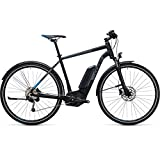 Fahrrad Elektrische Cube Cross Hybrid Pro Allroad 400black' N 'Blue 2017–54cm