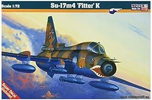 MisterCraft Kit de Modelo de avión a Escala 1:72 de Su-17M4 Fitter K