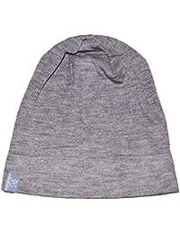 PICKAPOOH Beanie Mütze Rap aus Bio-Wolle/Seide