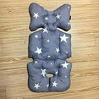 PFHB Baby Cart Cotton Cushion Cushion Dining Chair Cushion Universal Grey Five Stars