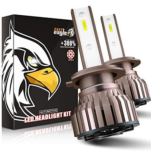 H7 LED 10800LM Glühlampen für Autoscheinwerfer, 12 V, 6000 K.