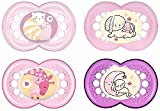 MAM Babyartikel 99970022 Day & Night Schnuller - Set 6-16 Girl