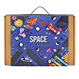 #9: SPACE EXPLORER 3-in-1 Educational Game for Boys and Girls: Contains DIY Activities, Science Experiment, and Crafts for Kids