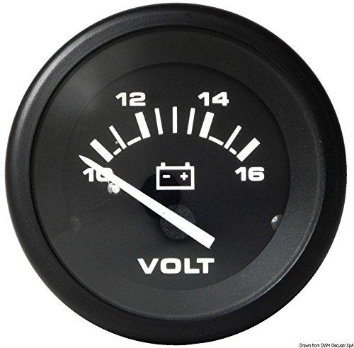Osculati 27.391.30 - Voltmeter 8-18V Teleflex - Teleflex Voltmeter