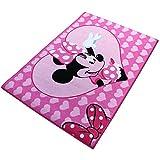 Teppich - Kinderteppich - Spielteppich mit Motivauswahl (Minnie Hello)