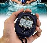 Cuzit stop orologio per uomini digitale professionale cronometro cronografo digitale sportivo contatore timer
