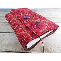 Protège livre fait main, couverture livre format poche, couvre livre en tissu wax, cadeaux, voyage, noël, anniversaire