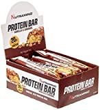 Nutramino Protein bar/Eiweiß Riegel  Vanilla und Caramel EiweißRiegel