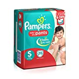 Pampers Small Size Diaper Pants (20 Coun...
