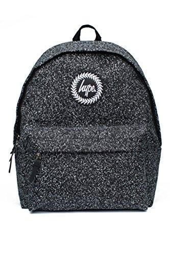 Hype Dust Speckle Backpack–Black/White