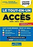 Concours ACCES - Le Tout-en-un - Concours 2019 - ESDES, ESSCA, IESEG