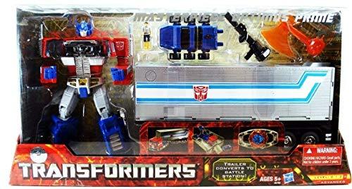 Transformers Masterpiece Optimus Prime Mit Trailer, Roller, Spike & Matrix