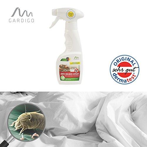 Preisvergleich Produktbild Gardigo Anti-Milben-Spray 100% pflanzlicher Schutz, 250 ml, Milbenspray, Milbenmittel - mit dem Wirkstoff aus der Natur!