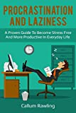 #8: Procrastination and Laziness: A Proven Guide To Become Stress Free And More Productive In Everyday Life (Procrastination, laziness, Addiction, Cure, Habits, Motivation, Productivity)