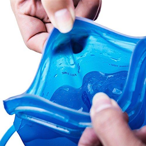 Fastar Outdoor Rucksack Outdoor Wasser Blase Bag tragbar outdoor Rucksack Wasser Tasche für Outdoor Sports Radfahren Wandern Camping Klettern Laufen Water bag Type A:1.5L