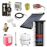 7 m² Solarthermie Paket + 500l Pufferspeicher mit 1 Wärmetauscher