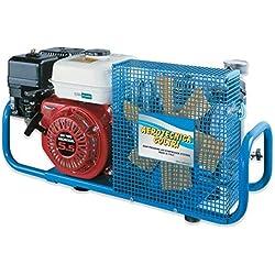 HTD Compresseur d'air respiratoire 100 l/Min 200/300 Bar avec Moteur de Combustion
