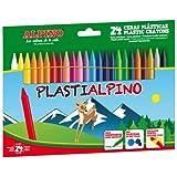 Alpino PA000024 - Estuche con 24 ceras