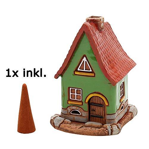 Sigro Maisonnette en céramique pour la Main Vert 7 x 75 x 11 cm