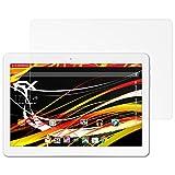 atFolix Schutzfolie kompatibel mit Trekstor SurfTab Breeze 10.1 Quad 3G Bildschirmschutzfolie, HD-Entspiegelung FX Folie (2X)