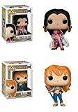 Funko POP! One Piece: Boa. Hancock + Nami – Stylized Vinyl Figure Set NEW