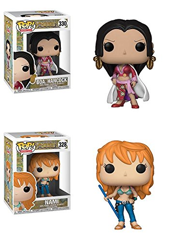 Funko POP! One Piece: Boa. Hancock + Nami - Stylized Vinyl Figure Set NEW