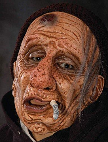 Wino ?Maske Halloween Kostueme Maske Gesicht Maske Over-the-Head-Maske Kostuem Stuetze Scary Creepy Schreckliche Maske Latex Maske fuer Maskerade Make-up Party (Zagone Studios Kostüm)