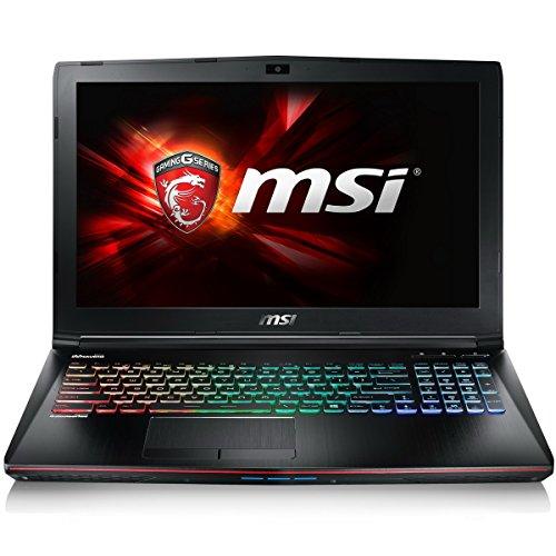 MSI 9S7-179441-014 Apache Pro 17.3-Inch Laptop (Intel Core i7-6700HQ, 16 GB RAM, 1 TB HDD, 128 GB SSD, LAN, WLAN, Nvidia GTX970M Graphics, Windows 10)