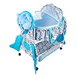 #9: Baybee Hive Premium Baby Swing Cradle cum Bassinet with Detachable Carry Cot and Storage Space