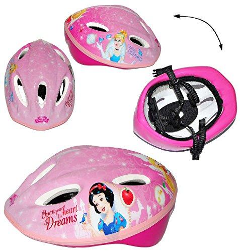 alles-meine.de GmbH Kinderhelm -  Disney Prinzessinnen  - Größen verstellbar - Helm für Kinder Motiv Princess Mädchen