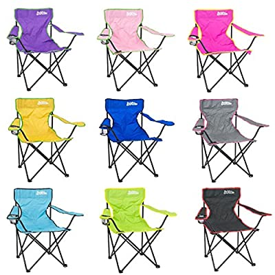 Just be... Folding Camping Chair Festival Garden Foldable Seat Deck Fishing Furniture - inexpensive UK light store.