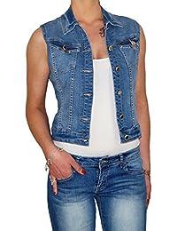 jeans gilet damen schwarz
