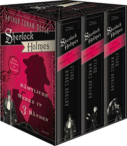Sherlock Holmes - Sämtliche Werke in drei Bänden (im Schuber)